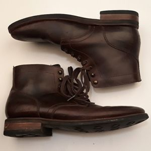THURSDAY BOOT Co Dark Brown Ankle Sz 12 Boots